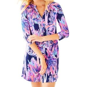 Lilly Pulitzer Button Down Printed Dress